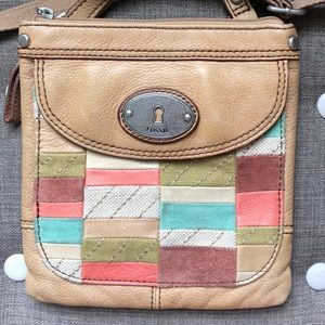 Fossil KeyPer Leather Crossbody
